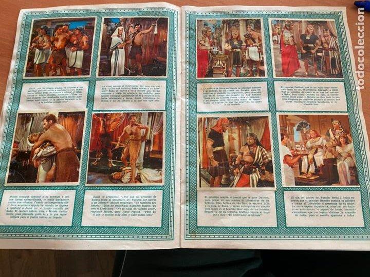 Coleccionismo Álbum: LOS DIEZ MANDAMIENTOS ALBUM COMPLETO 210 CROMOS BRUGUERA (COIB26) - Foto 13 - 255549260