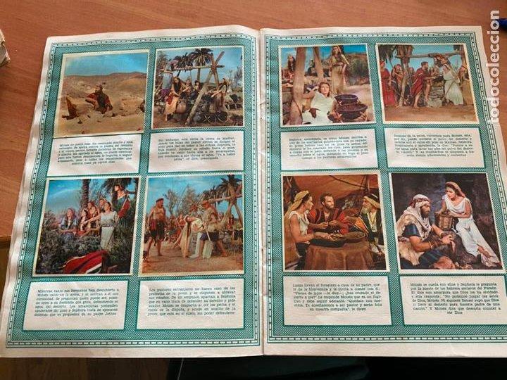 Coleccionismo Álbum: LOS DIEZ MANDAMIENTOS ALBUM COMPLETO 210 CROMOS BRUGUERA (COIB26) - Foto 15 - 255549260