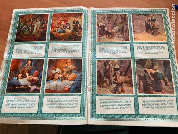 Coleccionismo Álbum: LOS DIEZ MANDAMIENTOS ALBUM COMPLETO 210 CROMOS BRUGUERA (COIB26) - Foto 16 - 255549260