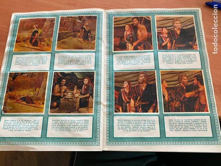 Coleccionismo Álbum: LOS DIEZ MANDAMIENTOS ALBUM COMPLETO 210 CROMOS BRUGUERA (COIB26) - Foto 18 - 255549260