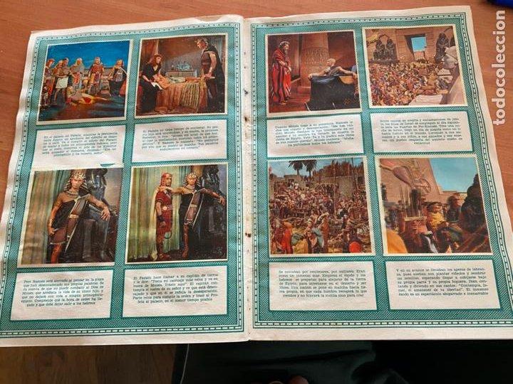 Coleccionismo Álbum: LOS DIEZ MANDAMIENTOS ALBUM COMPLETO 210 CROMOS BRUGUERA (COIB26) - Foto 24 - 255549260