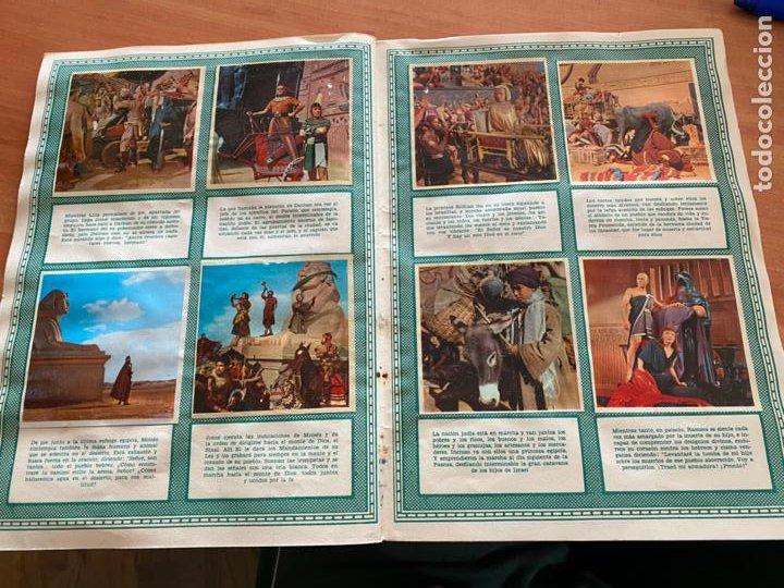 Coleccionismo Álbum: LOS DIEZ MANDAMIENTOS ALBUM COMPLETO 210 CROMOS BRUGUERA (COIB26) - Foto 26 - 255549260