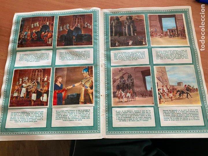 Coleccionismo Álbum: LOS DIEZ MANDAMIENTOS ALBUM COMPLETO 210 CROMOS BRUGUERA (COIB26) - Foto 27 - 255549260