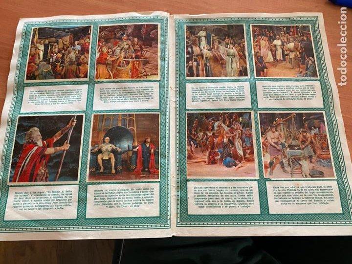 Coleccionismo Álbum: LOS DIEZ MANDAMIENTOS ALBUM COMPLETO 210 CROMOS BRUGUERA (COIB26) - Foto 29 - 255549260