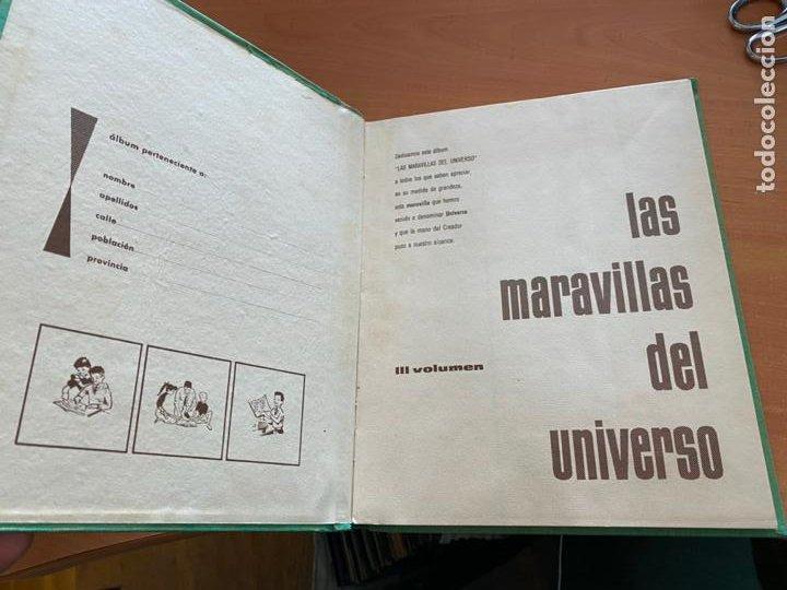 Coleccionismo Álbum: LAS MARAVILLAS DEL UNIVERSO * * * NETSLE ALBUM COMPLETO CON HOJA CUPONES (COIB26) - Foto 3 - 255549865