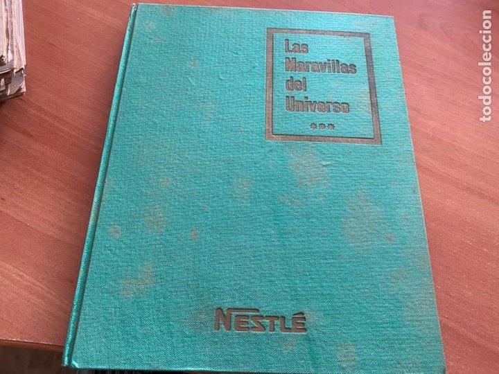 LAS MARAVILLAS DEL UNIVERSO * * * NETSLE ALBUM COMPLETO CON HOJA CUPONES (COIB26) (Coleccionismo - Cromos y Álbumes - Álbumes Completos)