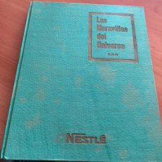 Coleccionismo Álbum: LAS MARAVILLAS DEL UNIVERSO * * * NETSLE ALBUM COMPLETO CON HOJA CUPONES (COIB26). Lote 255549865