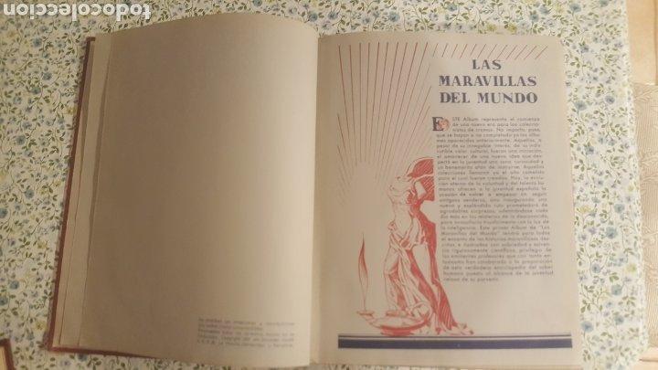 Coleccionismo Álbum: ALBUM DE CROMOS. LAS MARAVILLAS DEL MUNDO. NESTLE - Foto 10 - 257556630