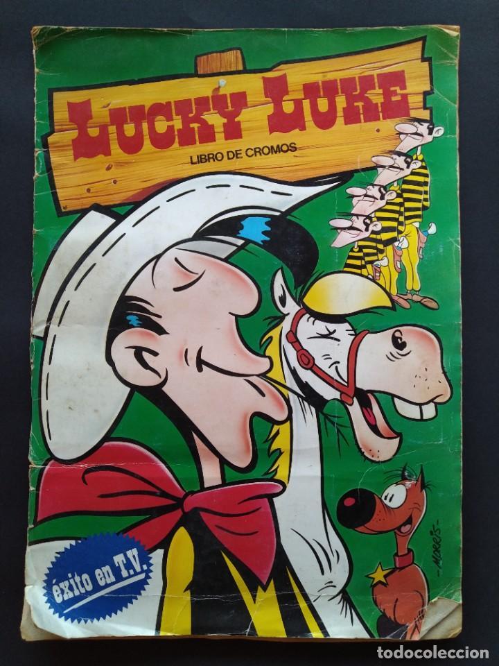 ALBUM DE CROMOS LUCKY LUKE COMPLETO- EDICIONES ESTE - AÑO 1985 ...L3849 (Coleccionismo - Cromos y Álbumes - Álbumes Completos)