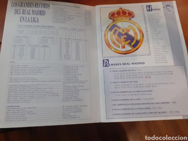 Coleccionismo Álbum: Real Madrid - álbum temporada 94/95 completo - Foto 2 - 261251280