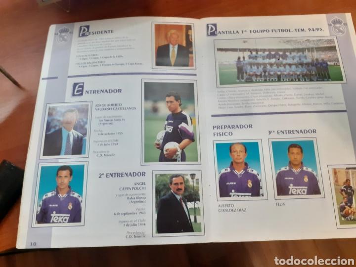 Coleccionismo Álbum: Real Madrid - álbum temporada 94/95 completo - Foto 7 - 261251280