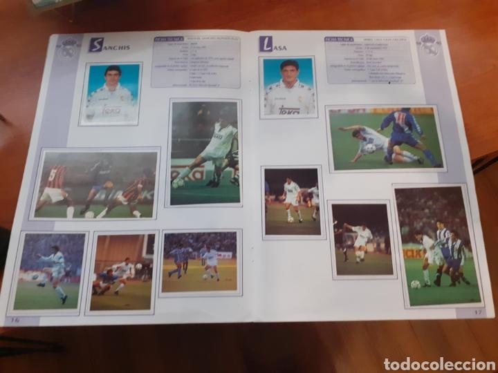Coleccionismo Álbum: Real Madrid - álbum temporada 94/95 completo - Foto 8 - 261251280