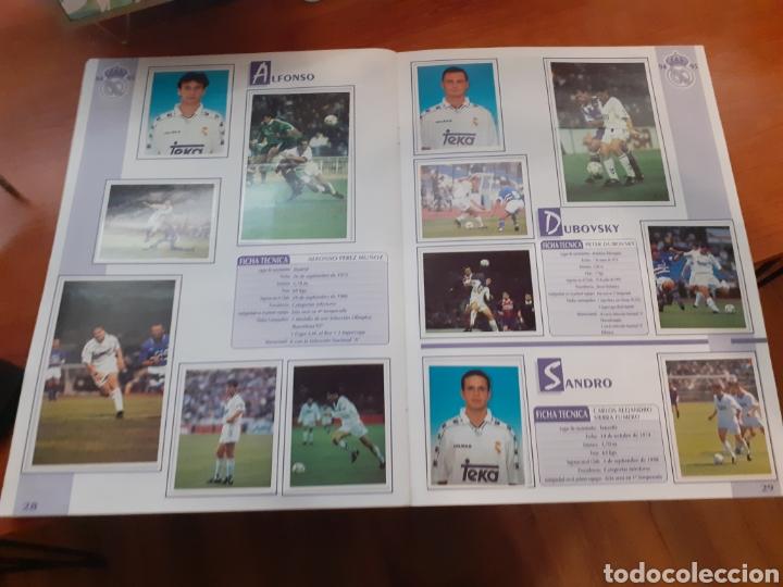Coleccionismo Álbum: Real Madrid - álbum temporada 94/95 completo - Foto 16 - 261251280