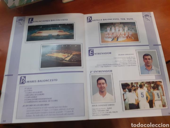Coleccionismo Álbum: Real Madrid - álbum temporada 94/95 completo - Foto 19 - 261251280