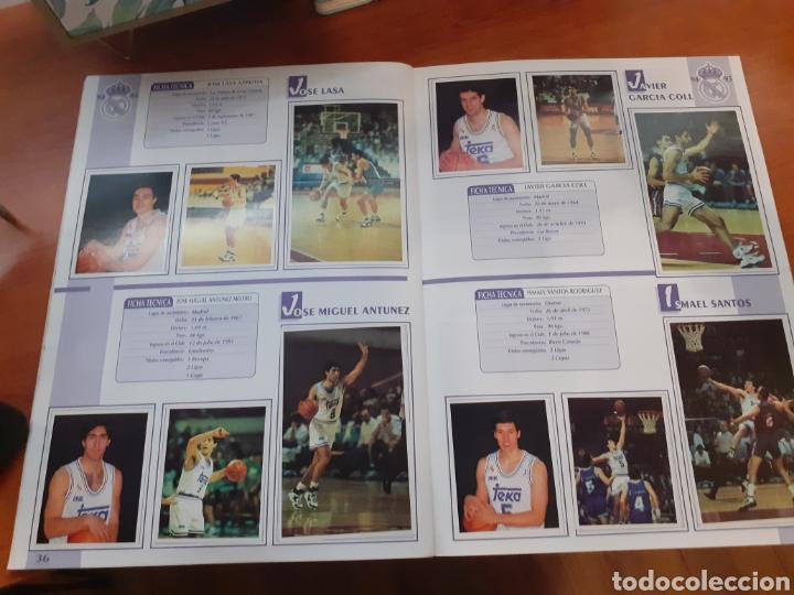 Coleccionismo Álbum: Real Madrid - álbum temporada 94/95 completo - Foto 21 - 261251280