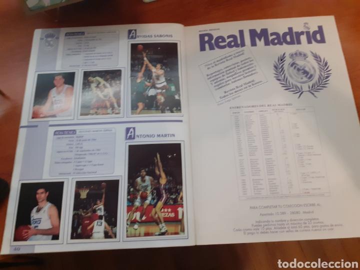 Coleccionismo Álbum: Real Madrid - álbum temporada 94/95 completo - Foto 23 - 261251280