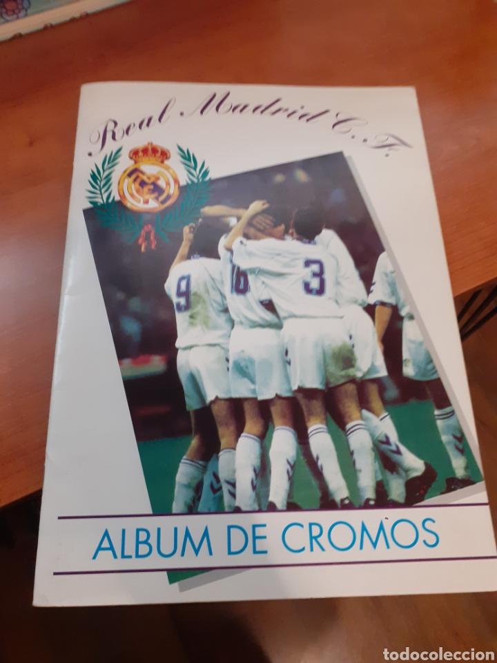 REAL MADRID - ÁLBUM TEMPORADA 94/95 COMPLETO (Coleccionismo - Cromos y Álbumes - Álbumes Completos)