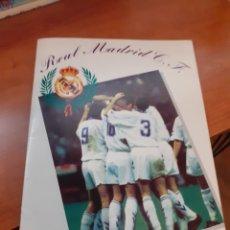 Coleccionismo Álbum: REAL MADRID - ÁLBUM TEMPORADA 94/95 COMPLETO. Lote 261251280