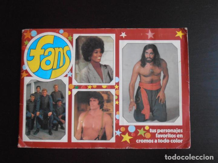 ALBUM DE CROMOS, FANS, COMPLETO, 1976 (Coleccionismo - Cromos y Álbumes - Álbumes Completos)