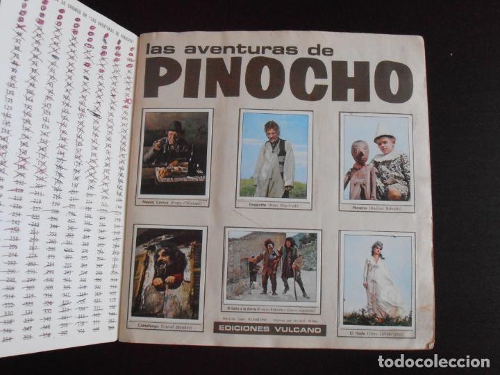 Coleccionismo Álbum: ALBUM DE CROMOS, LAS AVENTURAS DE PINOCHO, VULCANO PANINI, 1972, MUY BUEN ESTADO - Foto 2 - 261334680