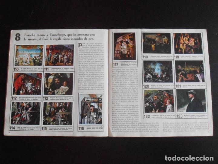 Coleccionismo Álbum: ALBUM DE CROMOS, LAS AVENTURAS DE PINOCHO, VULCANO PANINI, 1972, MUY BUEN ESTADO - Foto 4 - 261334680