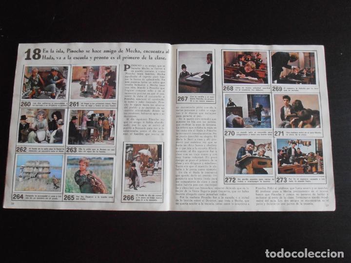 Coleccionismo Álbum: ALBUM DE CROMOS, LAS AVENTURAS DE PINOCHO, VULCANO PANINI, 1972, MUY BUEN ESTADO - Foto 6 - 261334680
