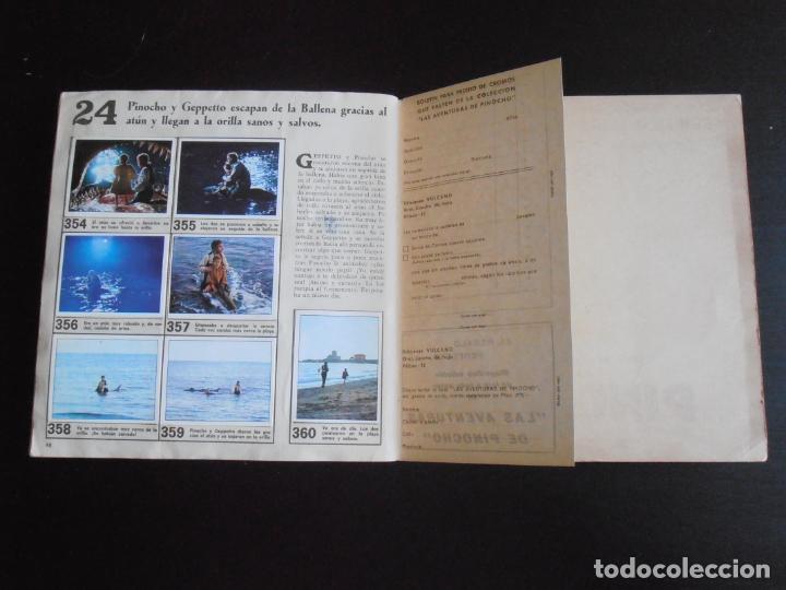Coleccionismo Álbum: ALBUM DE CROMOS, LAS AVENTURAS DE PINOCHO, VULCANO PANINI, 1972, MUY BUEN ESTADO - Foto 8 - 261334680