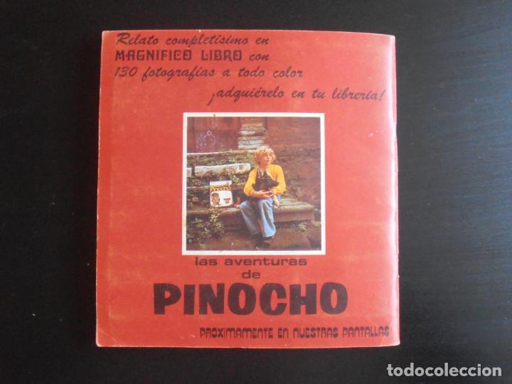 Coleccionismo Álbum: ALBUM DE CROMOS, LAS AVENTURAS DE PINOCHO, VULCANO PANINI, 1972, MUY BUEN ESTADO - Foto 9 - 261334680