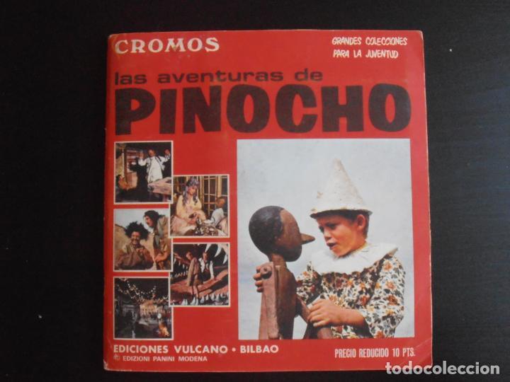 ALBUM DE CROMOS, LAS AVENTURAS DE PINOCHO, VULCANO PANINI, 1972, MUY BUEN ESTADO (Coleccionismo - Cromos y Álbumes - Álbumes Completos)