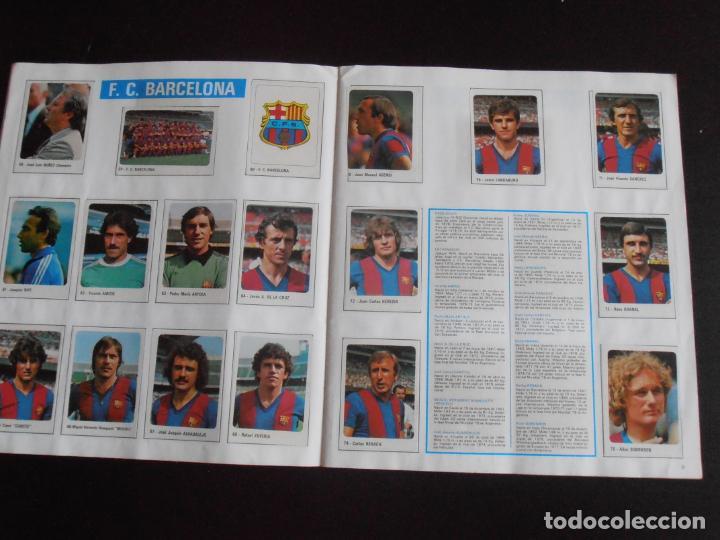 Coleccionismo Álbum: ALBUM DE CROMOS, FUTBOL 79-80, 1ª DIVISION Y SELECCION NACIONAL, COMPLETO, CROMO CROM - Foto 3 - 261347320