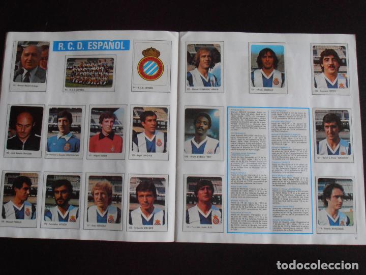 Coleccionismo Álbum: ALBUM DE CROMOS, FUTBOL 79-80, 1ª DIVISION Y SELECCION NACIONAL, COMPLETO, CROMO CROM - Foto 4 - 261347320