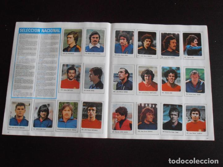 Coleccionismo Álbum: ALBUM DE CROMOS, FUTBOL 79-80, 1ª DIVISION Y SELECCION NACIONAL, COMPLETO, CROMO CROM - Foto 8 - 261347320