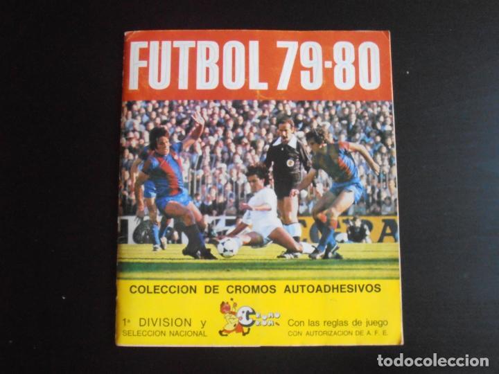 ALBUM DE CROMOS, FUTBOL 79-80, 1ª DIVISION Y SELECCION NACIONAL, COMPLETO, CROMO CROM (Coleccionismo - Cromos y Álbumes - Álbumes Completos)