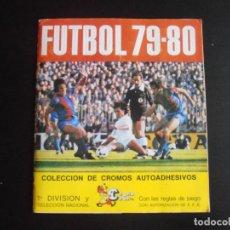 Coleccionismo Álbum: ALBUM DE CROMOS, FUTBOL 79-80, 1ª DIVISION Y SELECCION NACIONAL, COMPLETO, CROMO CROM. Lote 261347320