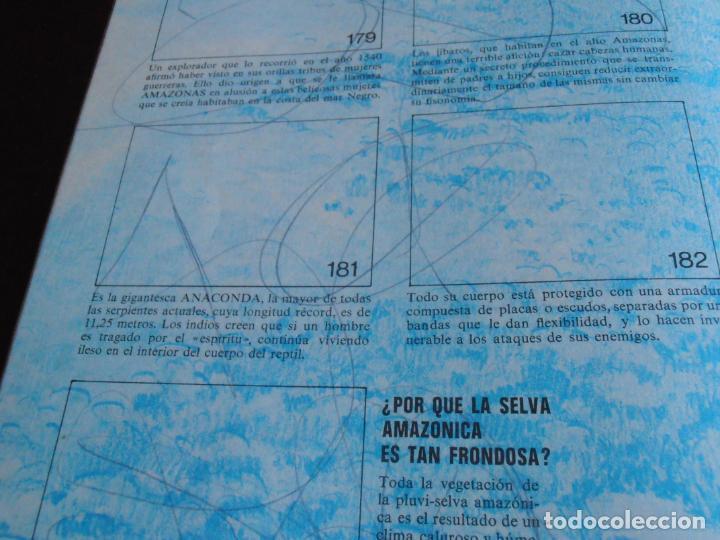 Coleccionismo Álbum: ALBUM DE CROMOS, EL PORQUE DE LAS COSAS Nº3, BIMBO, VACIO, PLANCHA - Foto 8 - 261349800