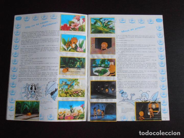 Coleccionismo Álbum: ALBUM DE CROMOS, LA ABEJA MAYA, COMPLETO, DANONE - Foto 3 - 261350565