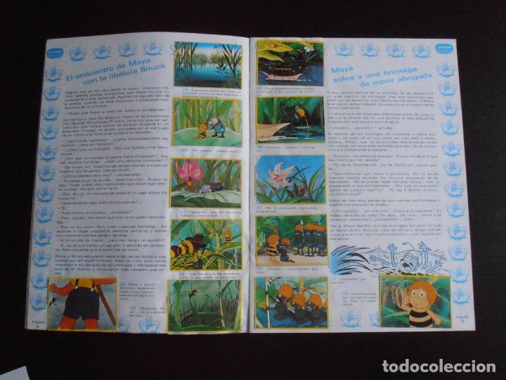 Coleccionismo Álbum: ALBUM DE CROMOS, LA ABEJA MAYA, COMPLETO, DANONE - Foto 4 - 261350565