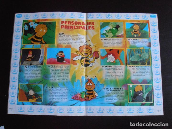 Coleccionismo Álbum: ALBUM DE CROMOS, LA ABEJA MAYA, COMPLETO, DANONE - Foto 5 - 261350565