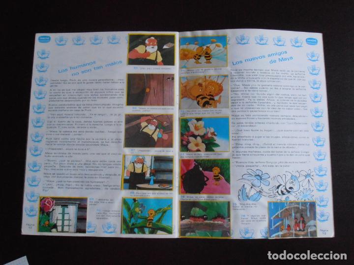 Coleccionismo Álbum: ALBUM DE CROMOS, LA ABEJA MAYA, COMPLETO, DANONE - Foto 6 - 261350565