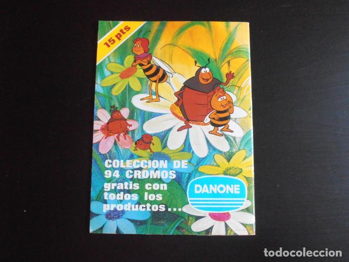 Coleccionismo Álbum: ALBUM DE CROMOS, LA ABEJA MAYA, COMPLETO, DANONE - Foto 8 - 261350565