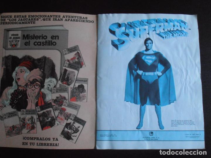 Coleccionismo Álbum: ALBUM DE CROMOS, SUPERMAN THE MOVIE, COMPLETO, FHER - Foto 2 - 261350955