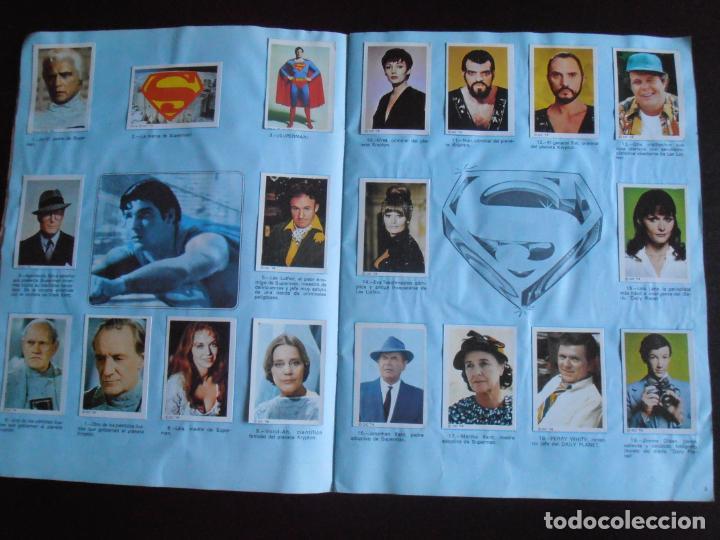 Coleccionismo Álbum: ALBUM DE CROMOS, SUPERMAN THE MOVIE, COMPLETO, FHER - Foto 3 - 261350955