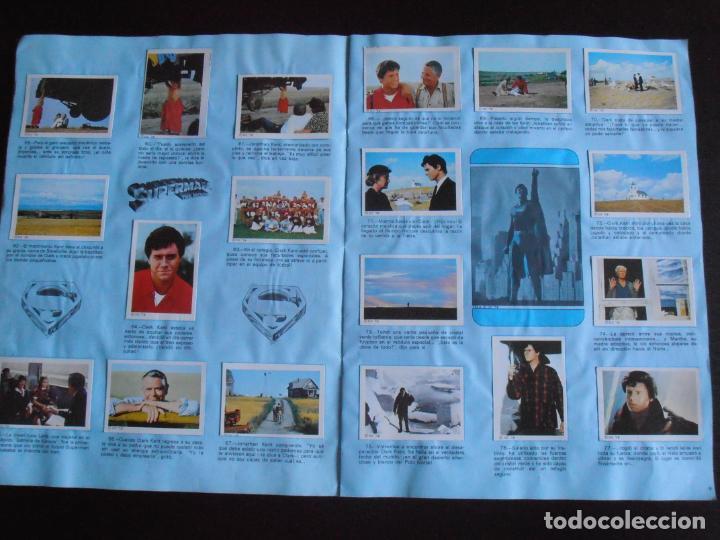 Coleccionismo Álbum: ALBUM DE CROMOS, SUPERMAN THE MOVIE, COMPLETO, FHER - Foto 4 - 261350955
