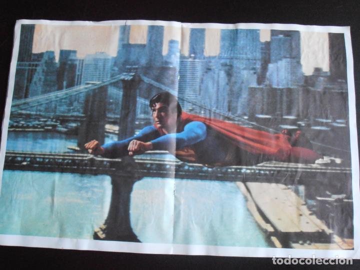Coleccionismo Álbum: ALBUM DE CROMOS, SUPERMAN THE MOVIE, COMPLETO, FHER - Foto 5 - 261350955