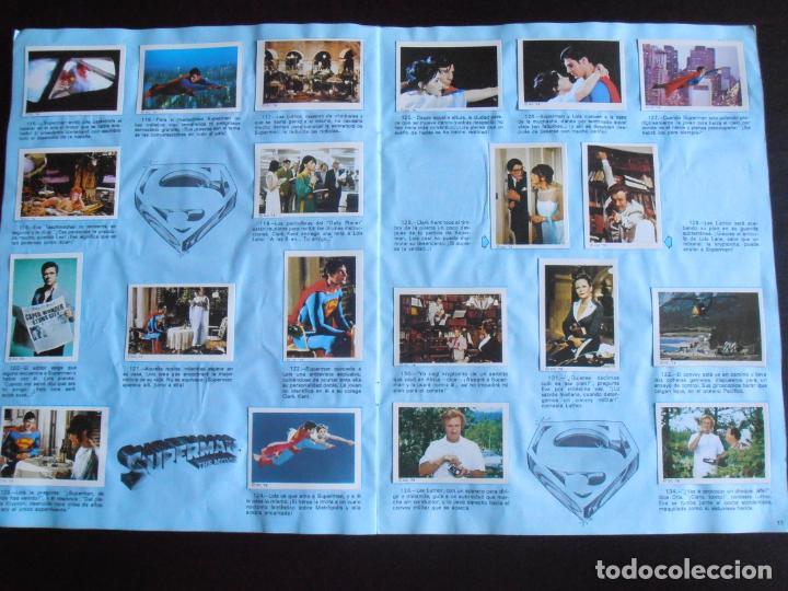 Coleccionismo Álbum: ALBUM DE CROMOS, SUPERMAN THE MOVIE, COMPLETO, FHER - Foto 6 - 261350955