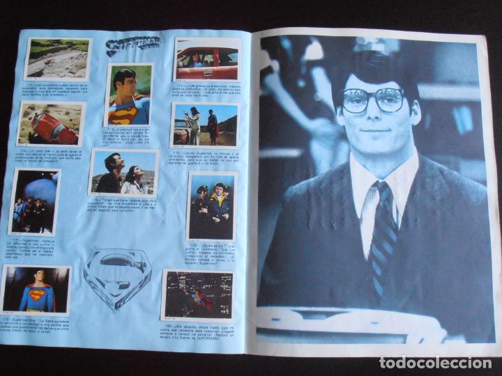 Coleccionismo Álbum: ALBUM DE CROMOS, SUPERMAN THE MOVIE, COMPLETO, FHER - Foto 7 - 261350955