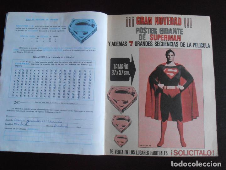 Coleccionismo Álbum: ALBUM DE CROMOS, SUPERMAN THE MOVIE, COMPLETO, FHER - Foto 8 - 261350955