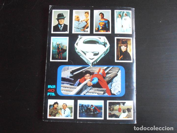 Coleccionismo Álbum: ALBUM DE CROMOS, SUPERMAN THE MOVIE, COMPLETO, FHER - Foto 9 - 261350955
