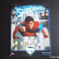 Coleccionismo Álbum: ALBUM DE CROMOS, SUPERMAN THE MOVIE, COMPLETO, FHER. Lote 261350955