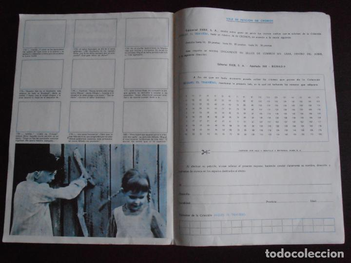 Coleccionismo Álbum: ALBUM DE CROMOS, MIGUEL EL TRAVIESO, VACIO, PLANCHA, FHER, UNICO EN TC - Foto 4 - 261359300